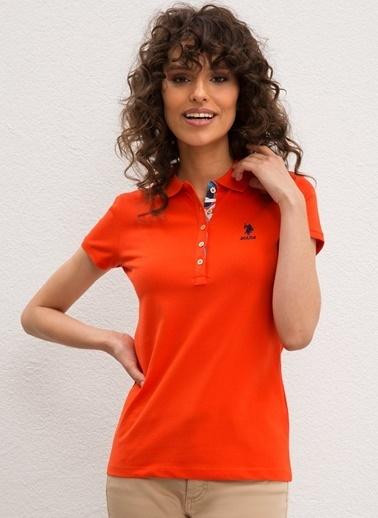 U.S. Polo Assn. U.S. Polo Assn. Kırmızı T-Shirt Kırmızı